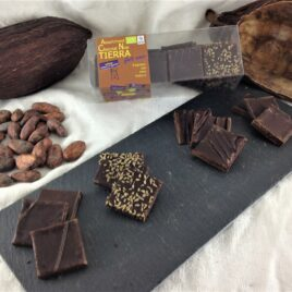"Boite de dégustation de Chocolat bio 75% ""Tierra"""