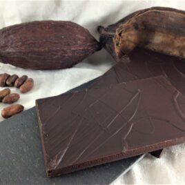 Le chocolat bio 100% cacao Nature