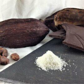 Le chocolat bio 75% cacao sel