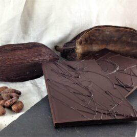 Le chocolat bio 75% cacao Nature