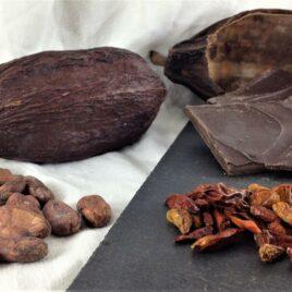 Le chocolat bio 75% cacao piment et citronnelle