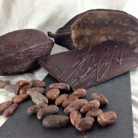 Le chocolat bio 85% cacao Nature