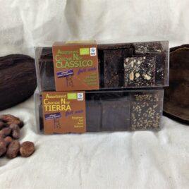 Lot de 2 boites de dégustation de Chocolat 75% cacao