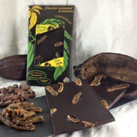 Tablette de chocolat 100% figues
