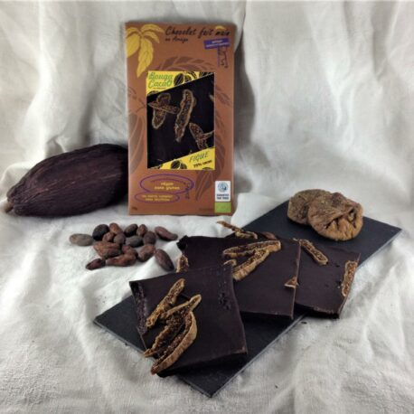 tablette chocolat 75% Figues