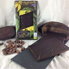 Tablette chocolat bio nature 100% cacao