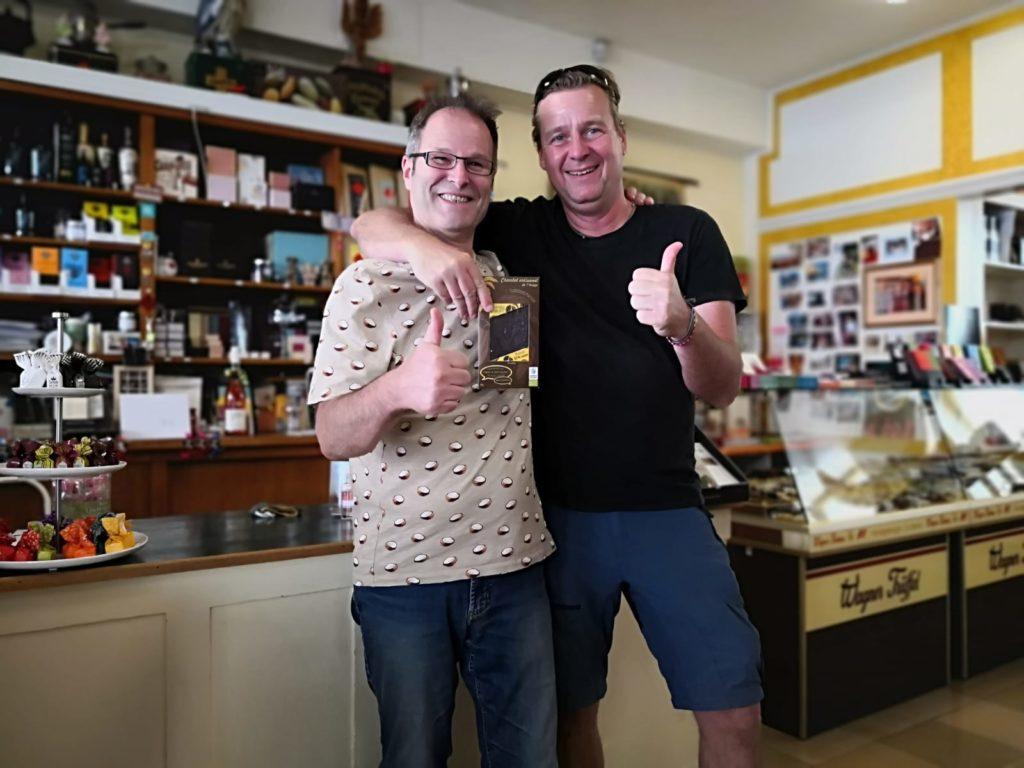 Bouga CacaO avec Axel de la boutique ZuckerBecker à Karlsruhe
